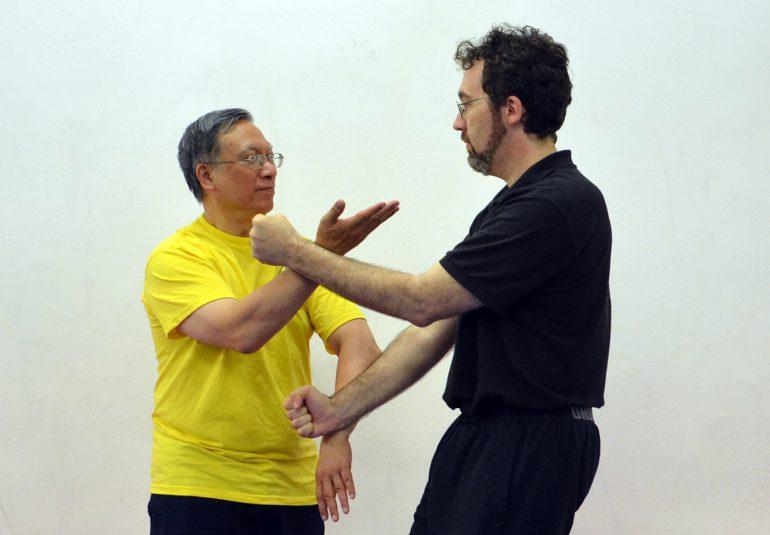 Sifu Allan W. Fong e Sifu Pietro Nicolaus Roselli Lorenzini